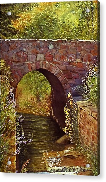 Bridge At Manitou Springs Acrylic Print