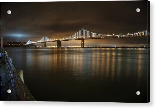 Bronze And Gold Acrylic Print