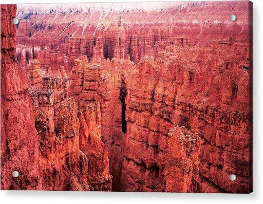 Bryce Canyon Red Acrylic Print