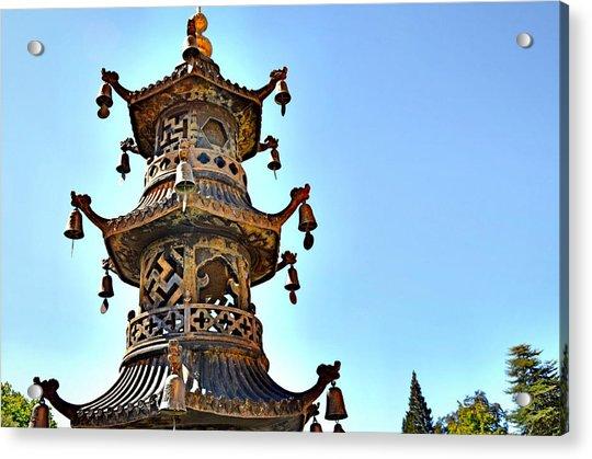 Buddhist Bells Acrylic Print