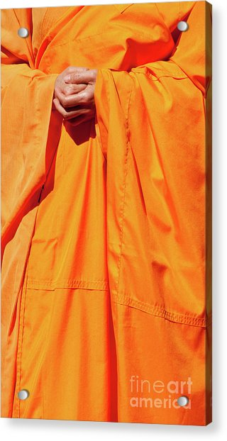Buddhist Monk 02 Acrylic Print