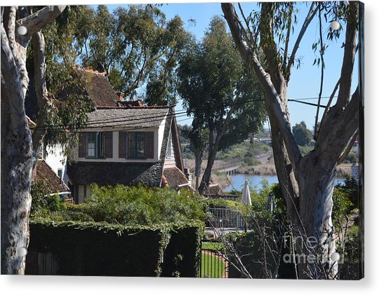 Acrylic Print featuring the photograph Buena Vista Lagoon by Laurie Lundquist