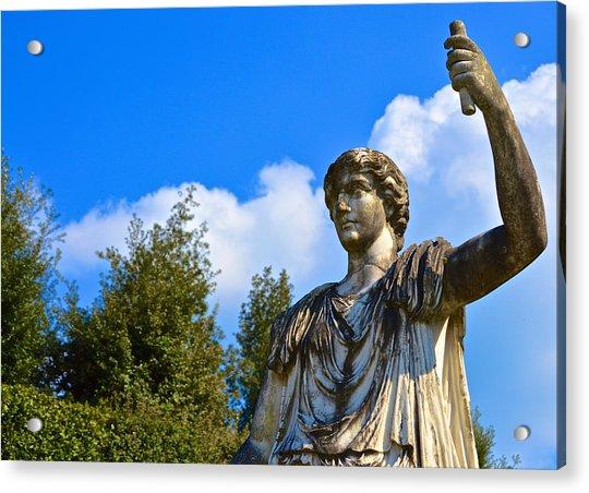 Caesar On Blue Sky Acrylic Print