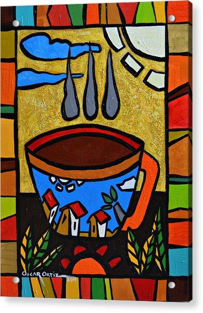 Cafe Criollo  Acrylic Print