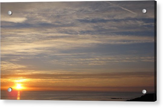 California Sunset Acrylic Print