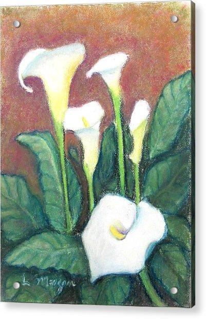 Calla Quintet Acrylic Print