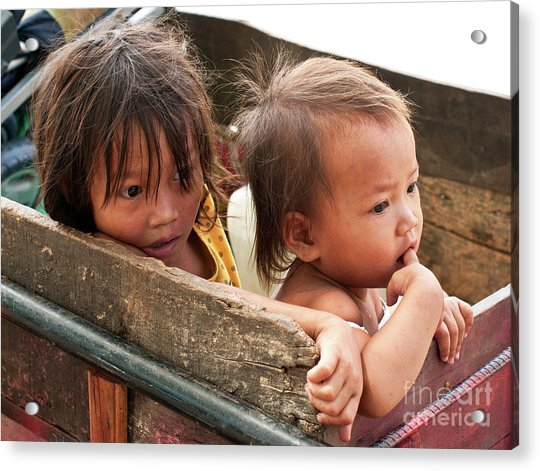 Cambodian Children 03 Acrylic Print
