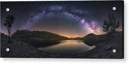 Camporredondo Milky Way Acrylic Print