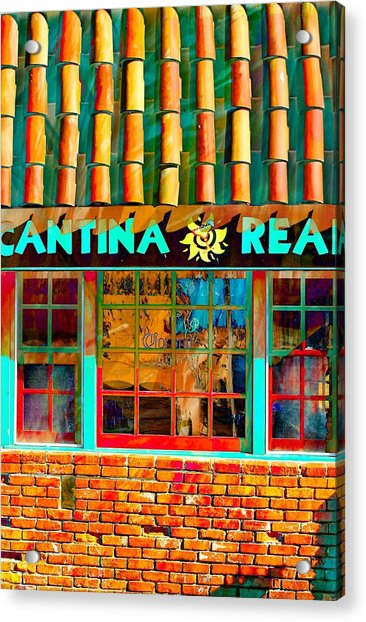 Cantina Real Gone Acrylic Print