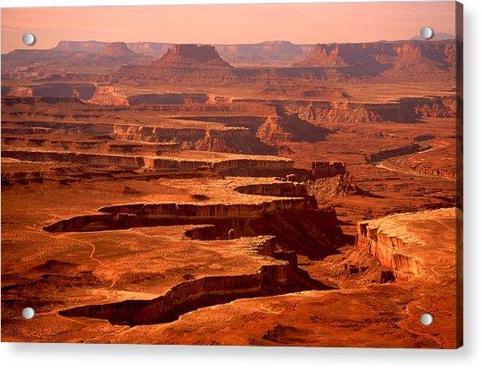 Canyonlands Utah Acrylic Print