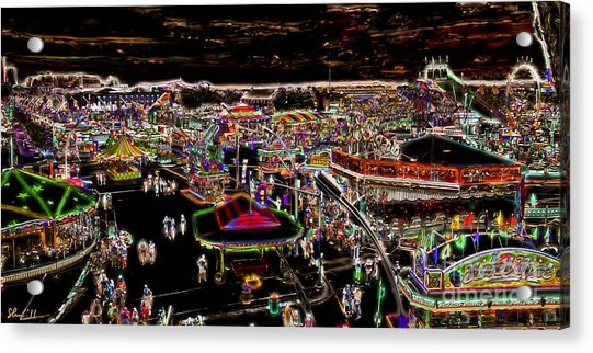Carnival - Midway East Acrylic Print