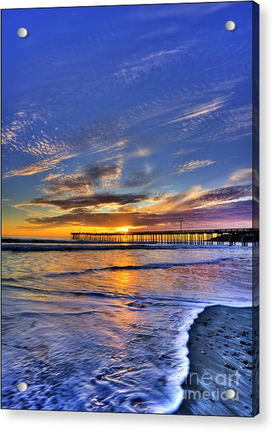 Cayucos Sunset Acrylic Print