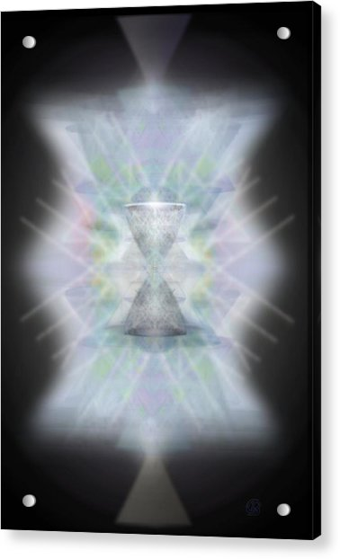 Chalice Emerging Acrylic Print by Christopher Pringer