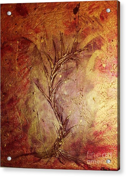 Chaos - The Bleeding Tree  Acrylic Print