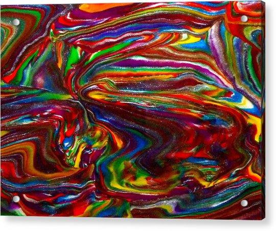 Chaotic Flow Acrylic Print