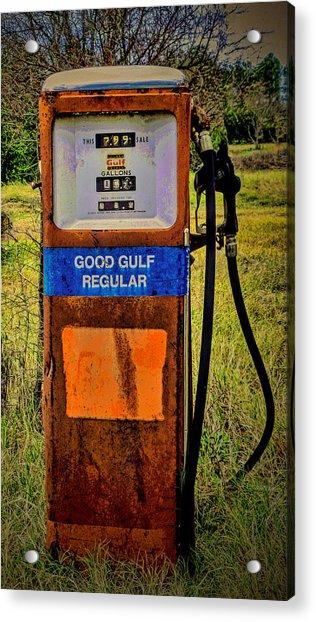 Cheap Gas Acrylic Print