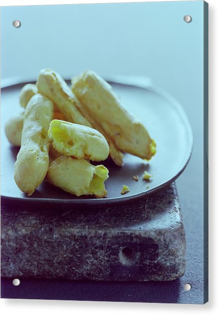 Cheese Puffs Acrylic Print