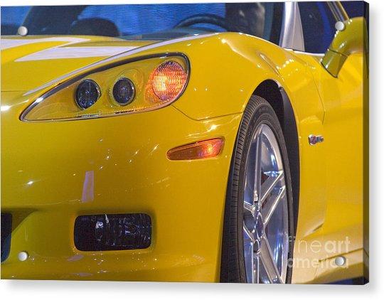 Chevrolet Corvette Acrylic Print