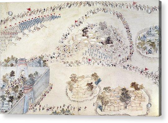 China Taiping Rebellion Acrylic Print