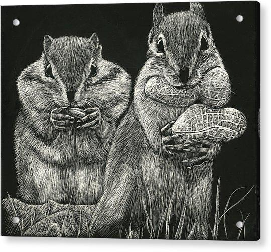 Chip 'n' Dale Acrylic Print
