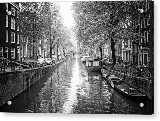 City Of Canals Acrylic Print