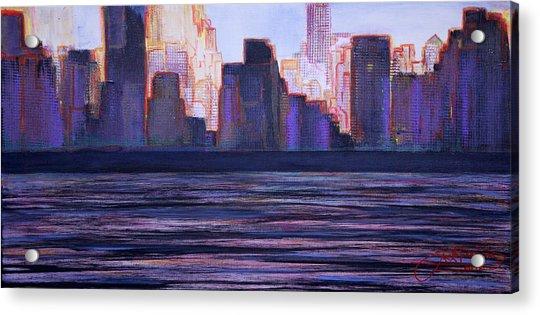 City Sunset Acrylic Print