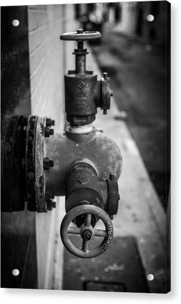 City Valves Acrylic Print