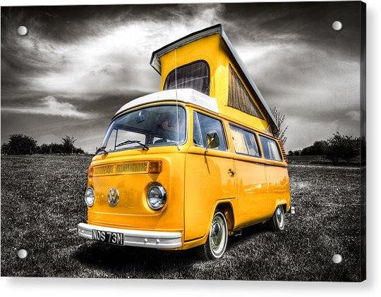 Classic Vw Campervan Acrylic Print