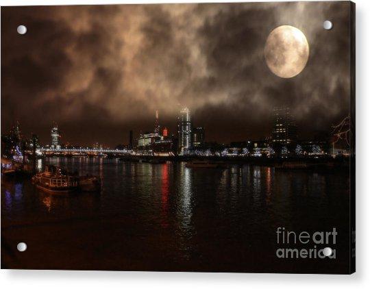 Victoria London  Acrylic Print
