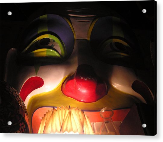 Clown In The Antique Shop Acrylic Print