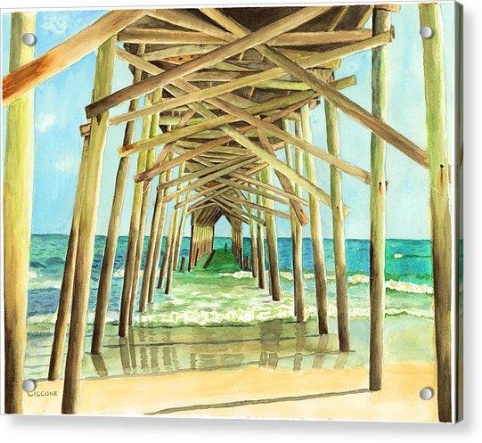 Coastal Cathedral  Acrylic Print