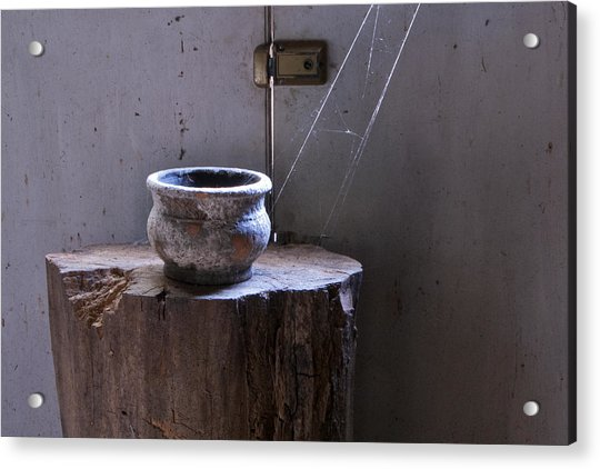 Cobwebs Acrylic Print