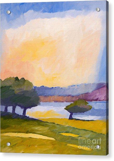 Colorful Impression Acrylic Print