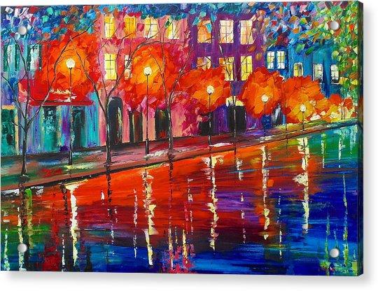 Colorful Night Acrylic Print