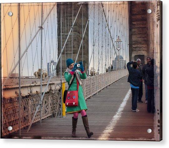 Colorful Photographer Carnival  Acrylic Print
