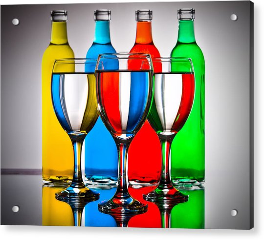 Colors Acrylic Print