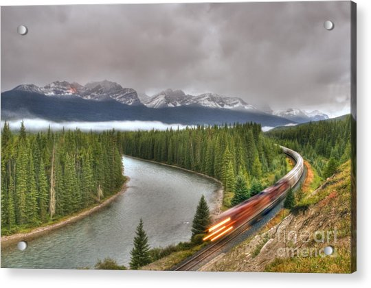 Coming 'round The Bend' Acrylic Print