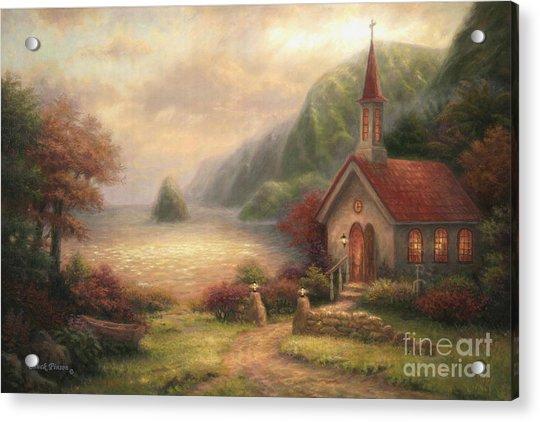Compassion Chapel Acrylic Print