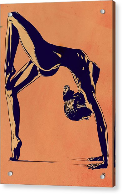 Contortionist Acrylic Print by Giuseppe Cristiano