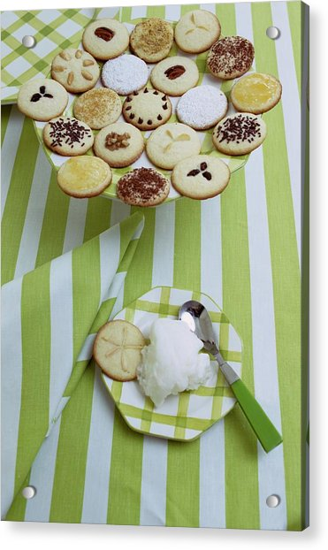 Cookies And Icing Acrylic Print