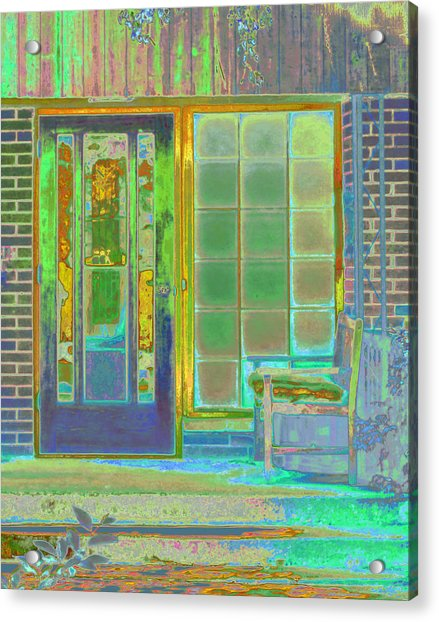 Cottage Porch Acrylic Print