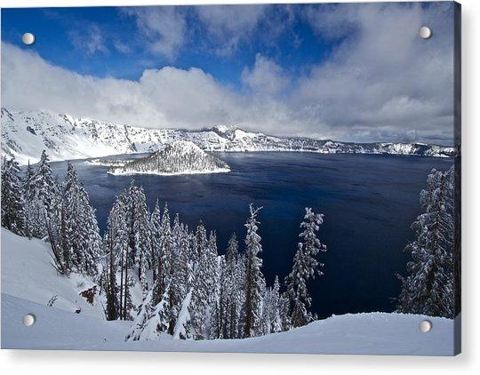 Crater Lake 040913a Acrylic Print