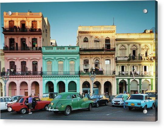 Cuba, Havana, Havana Vieja, Outside T Acrylic Print