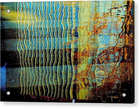 Dali Reflections Of Devon Acrylic Print