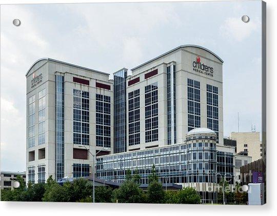 Dallas Children's Medical Center Hospital Acrylic Print