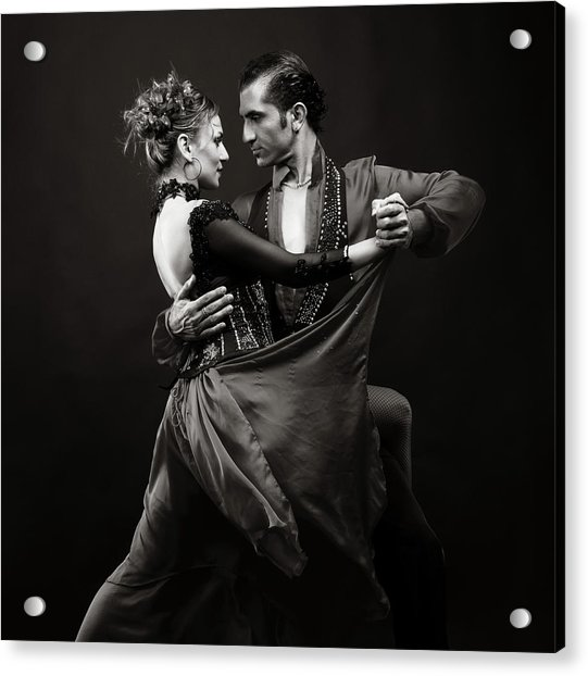Dance Of Love Acrylic Print by Ozgurdonmaz