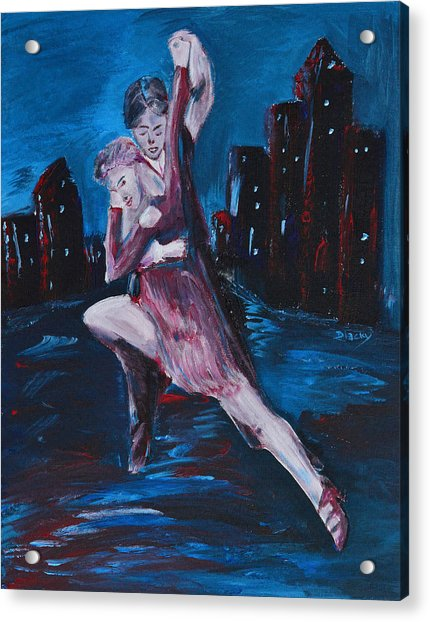 Dance The Night Away Acrylic Print