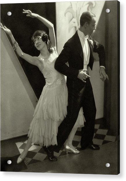 Dancers Fred And Adele Astaire Acrylic Print