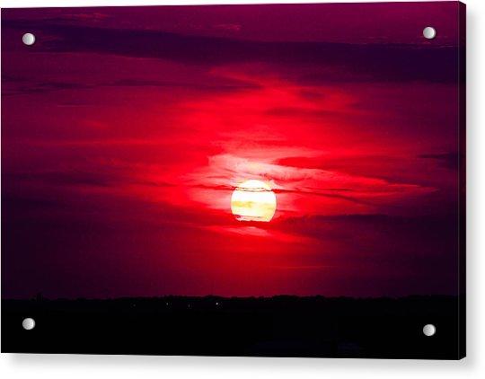 Dark Sunset Acrylic Print
