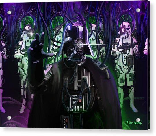 Darth Borg Acrylic Print
